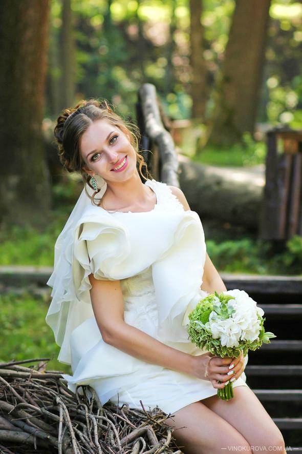 Свадьба Марины и Антона в стиле рустик - фото №36