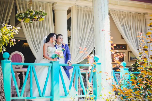 Свадьба Дарины и Максима в стиле Тиффани - фото №19