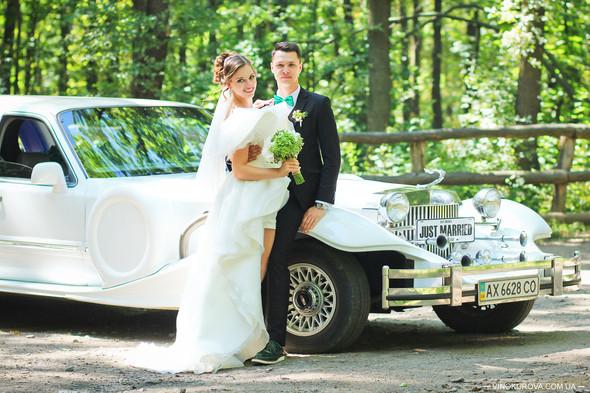 Свадьба Марины и Антона в стиле рустик - фото №20