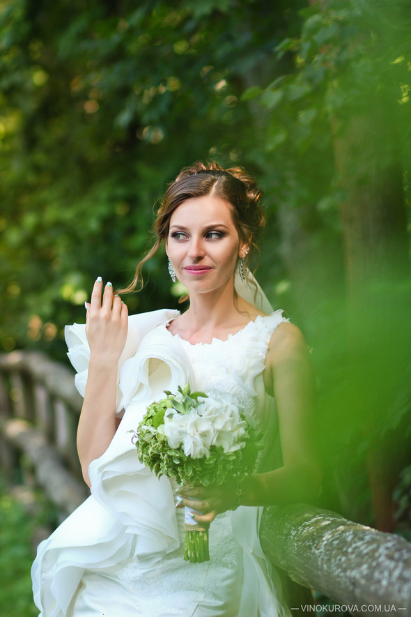 Свадьба Марины и Антона в стиле рустик - фото №27