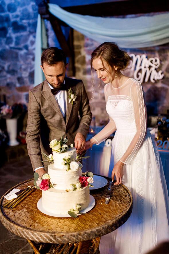 Свадьба в замке Радомысль - фото №116