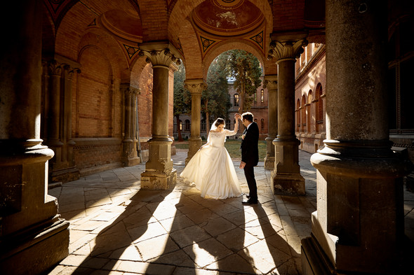 Свадьба Асаада и Елены - фото №28
