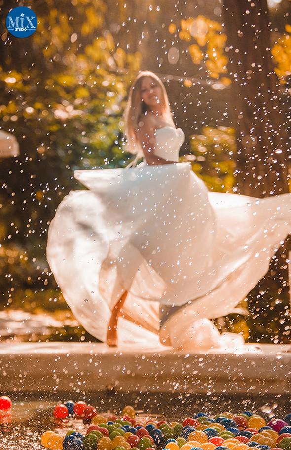 Свадебный рассвет у моря - фото №9