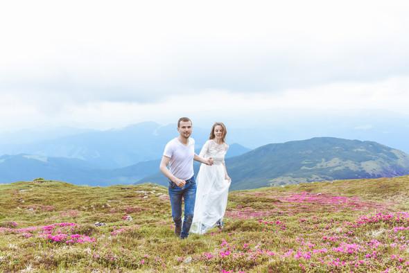 Love Story в горах - фото №17