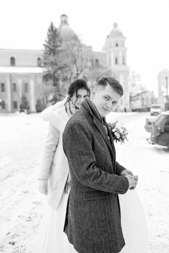 Снежная свадьба - фото №53