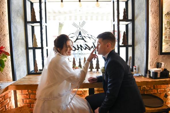 Снежная свадьба - фото №4