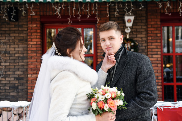 Снежная свадьба - фото №18