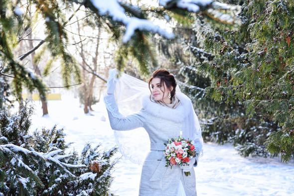 Снежная свадьба - фото №20