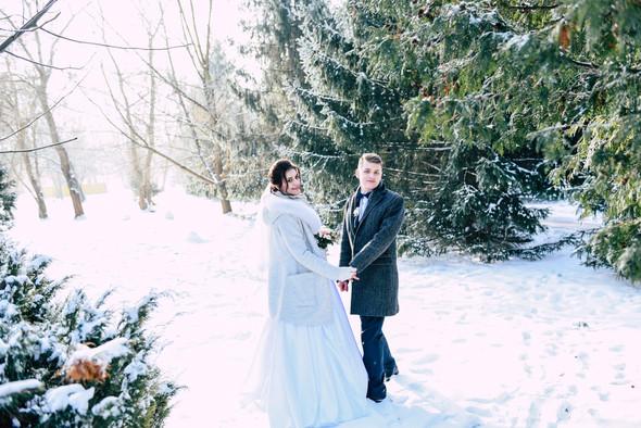 Снежная свадьба - фото №28