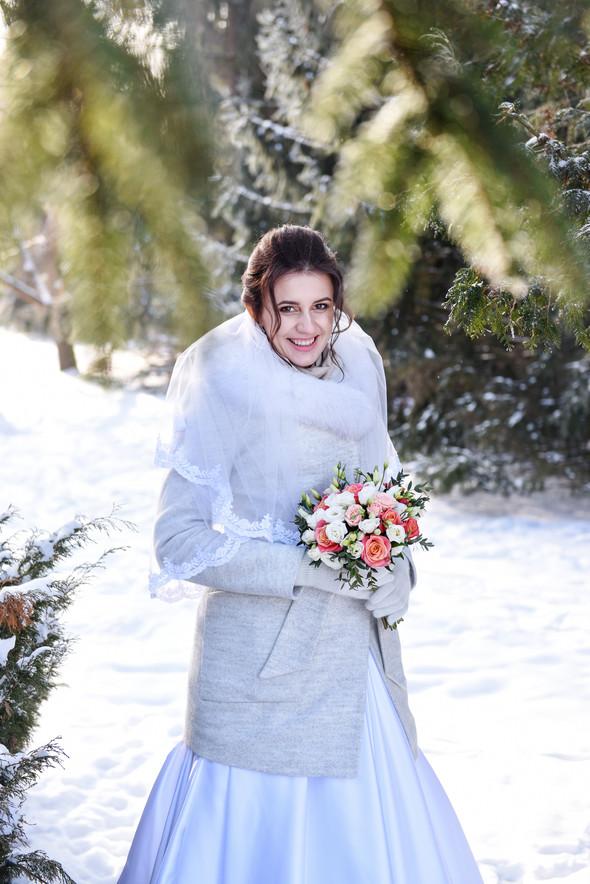 Снежная свадьба - фото №19