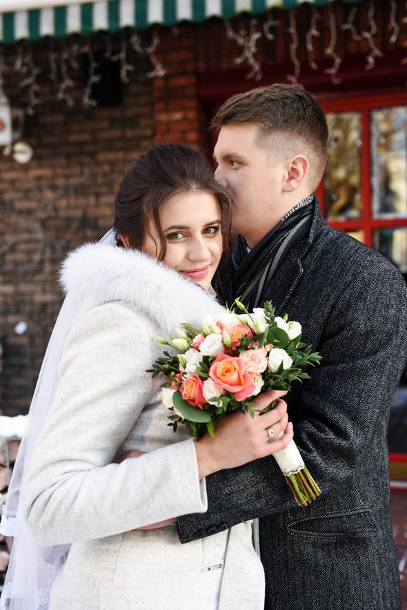 Снежная свадьба - фото №17