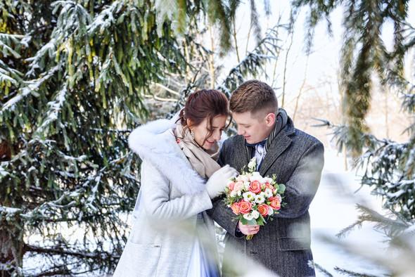 Снежная свадьба - фото №34