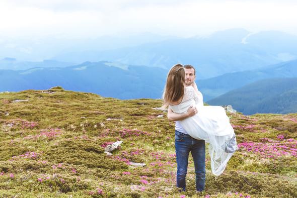 Love Story в горах - фото №11