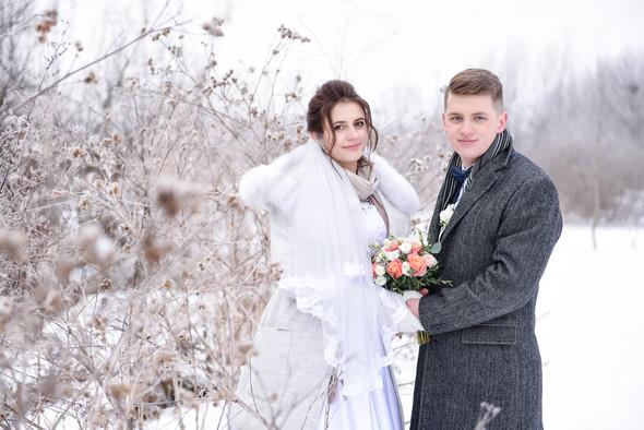 Снежная свадьба - фото №49