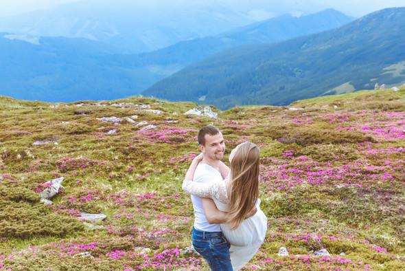 Love Story в горах - фото №13