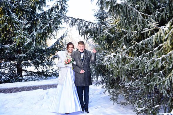 Снежная свадьба - фото №36