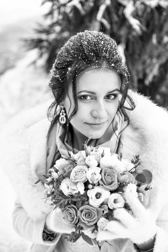 Снежная свадьба - фото №40