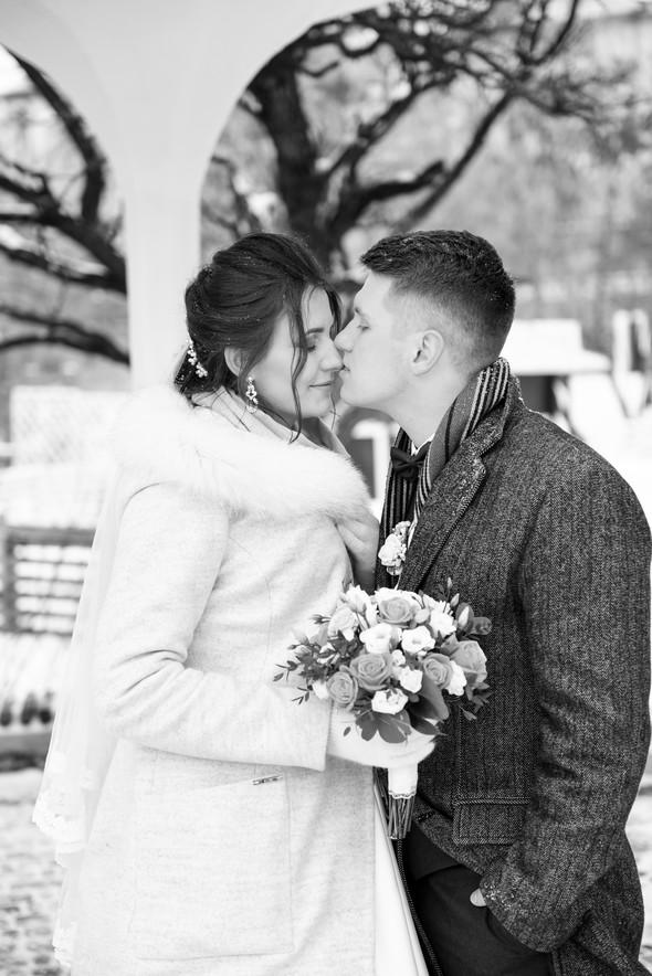 Снежная свадьба - фото №42