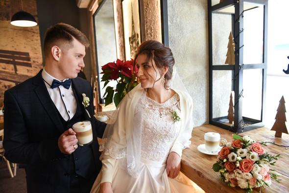Снежная свадьба - фото №9