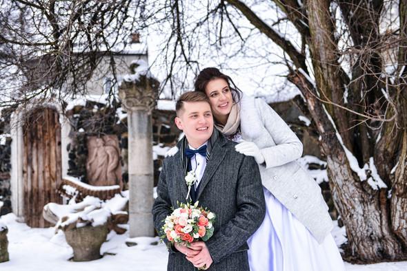 Снежная свадьба - фото №48