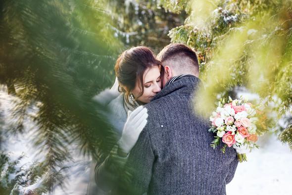 Снежная свадьба - фото №25