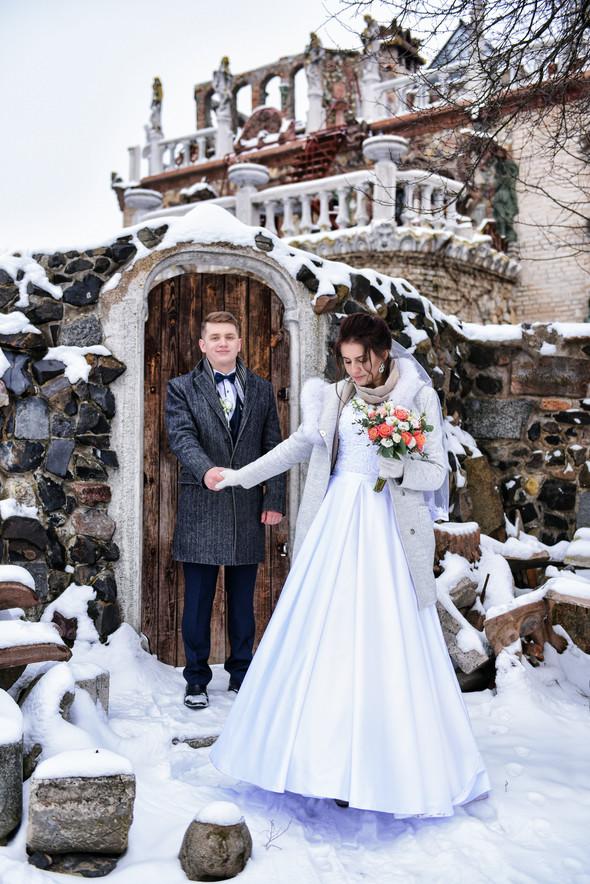 Снежная свадьба - фото №43