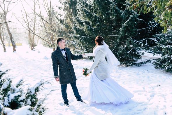 Снежная свадьба - фото №30