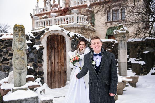 Снежная свадьба - фото №46