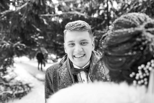 Снежная свадьба - фото №37