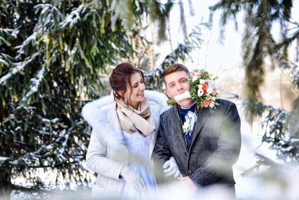 Снежная свадьба - фото №35