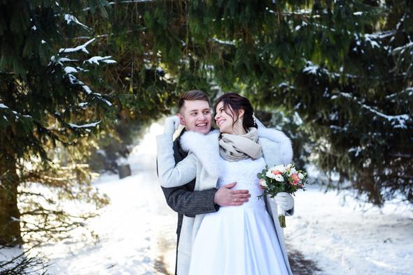 Снежная свадьба - фото №5