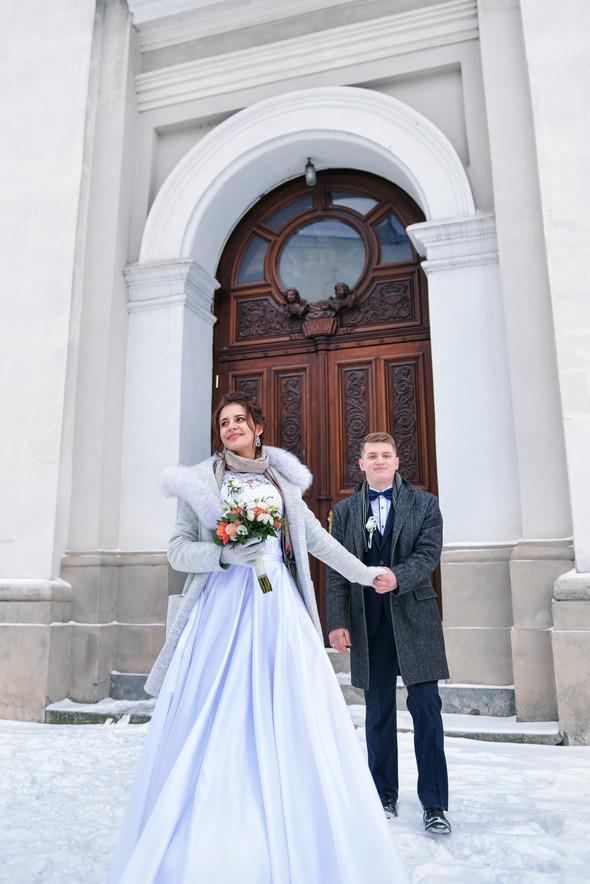 Снежная свадьба - фото №56
