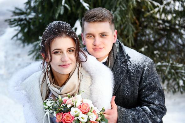 Снежная свадьба - фото №41