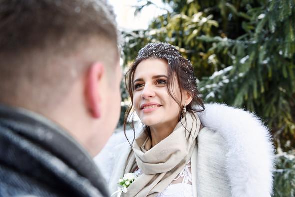 Снежная свадьба - фото №38