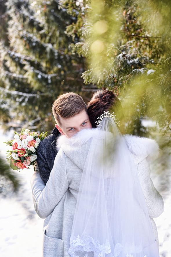 Снежная свадьба - фото №26