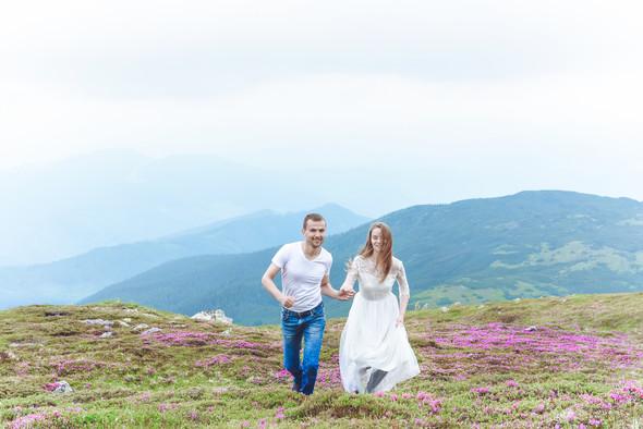 Love Story в горах - фото №14