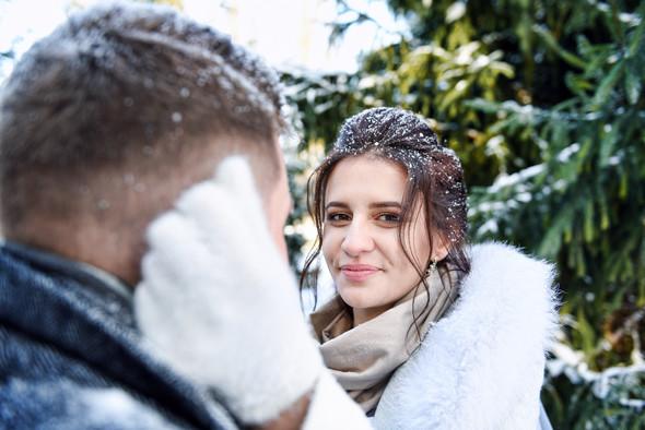 Снежная свадьба - фото №39