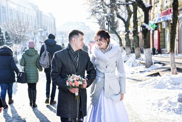 Снежная свадьба - фото №16