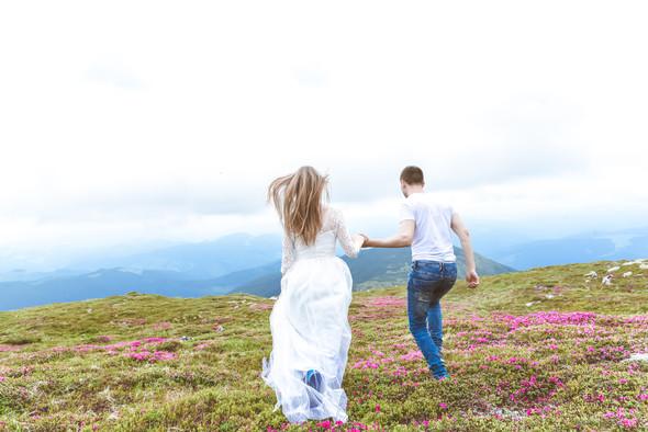 Love Story в горах - фото №16