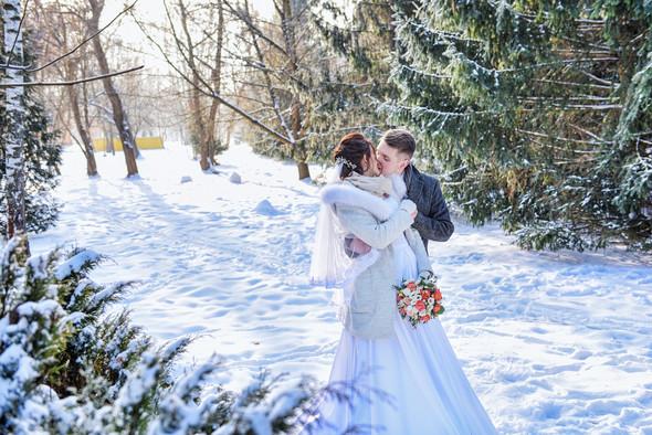 Снежная свадьба - фото №31