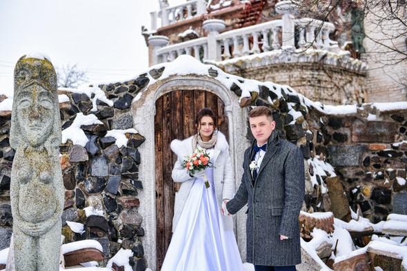 Снежная свадьба - фото №45