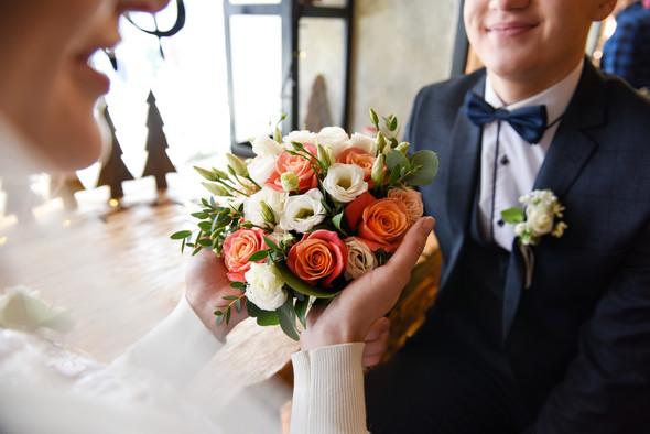 Снежная свадьба - фото №7