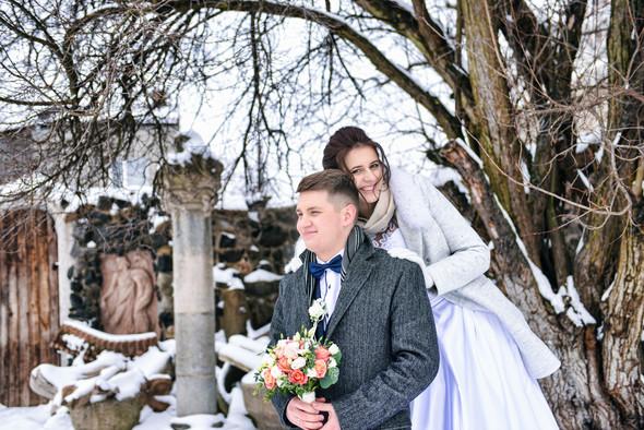 Снежная свадьба - фото №47