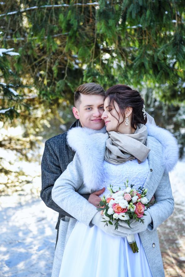Снежная свадьба - фото №33