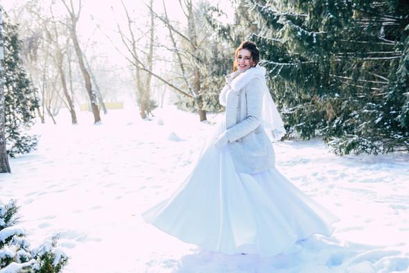 Снежная свадьба - фото №29