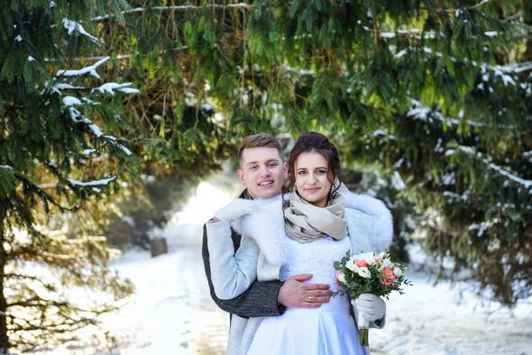 Снежная свадьба - фото №32