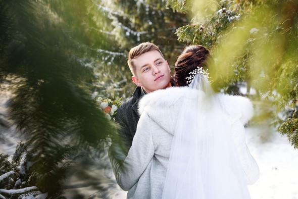 Снежная свадьба - фото №27
