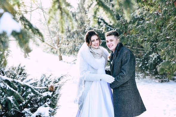 Снежная свадьба - фото №21