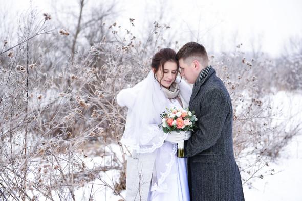 Снежная свадьба - фото №51