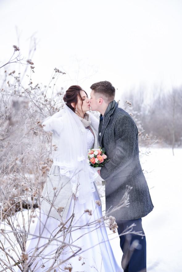 Снежная свадьба - фото №50
